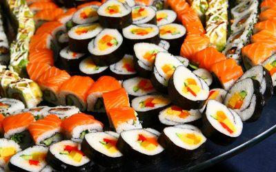lot sushi