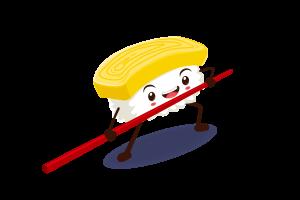 omelet nigiri